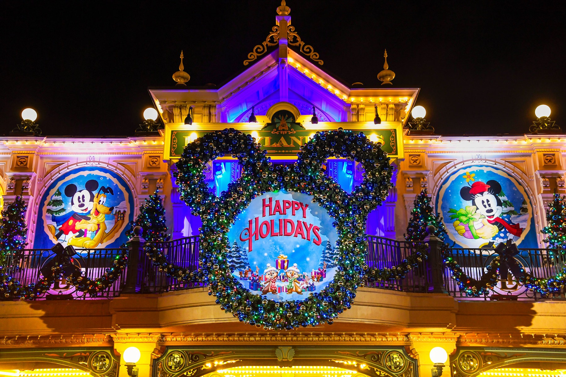 jul i Disneyland Paris