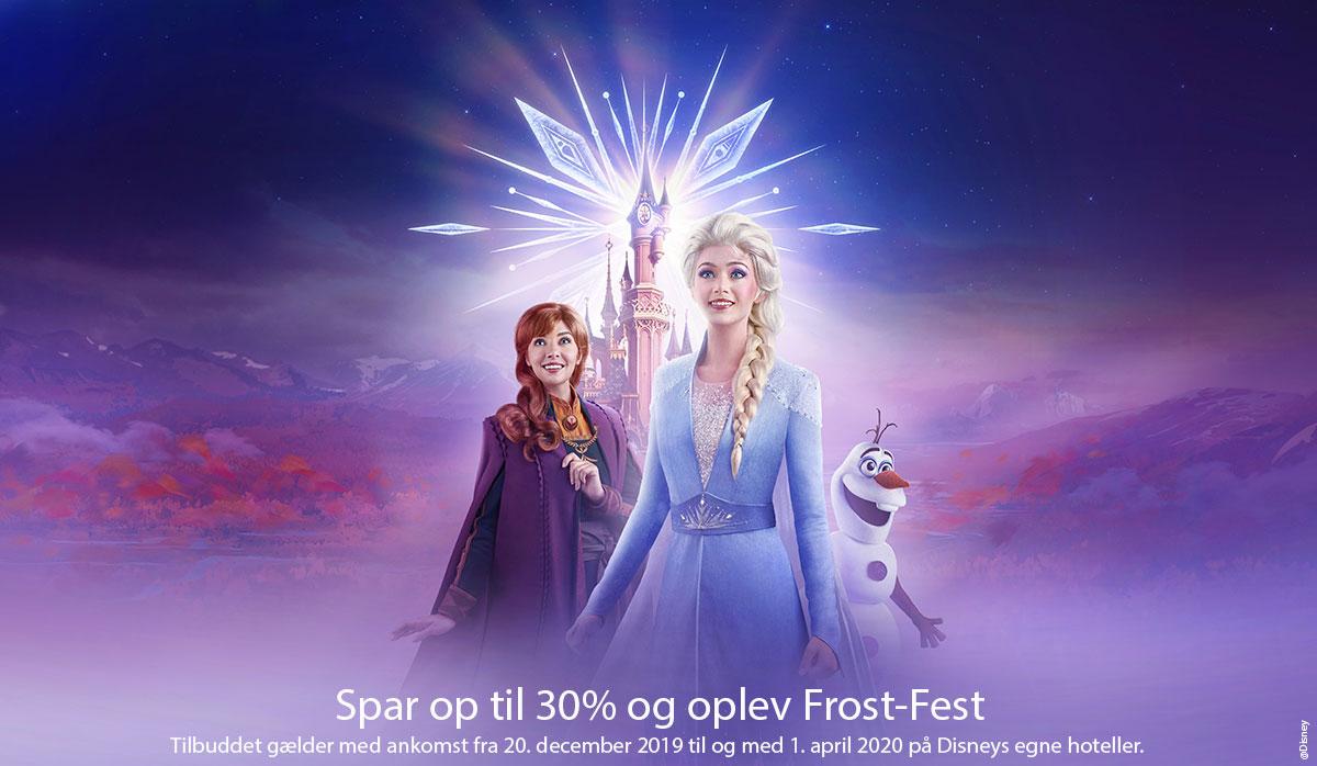 Frost-Fest, Disneyland Paris
